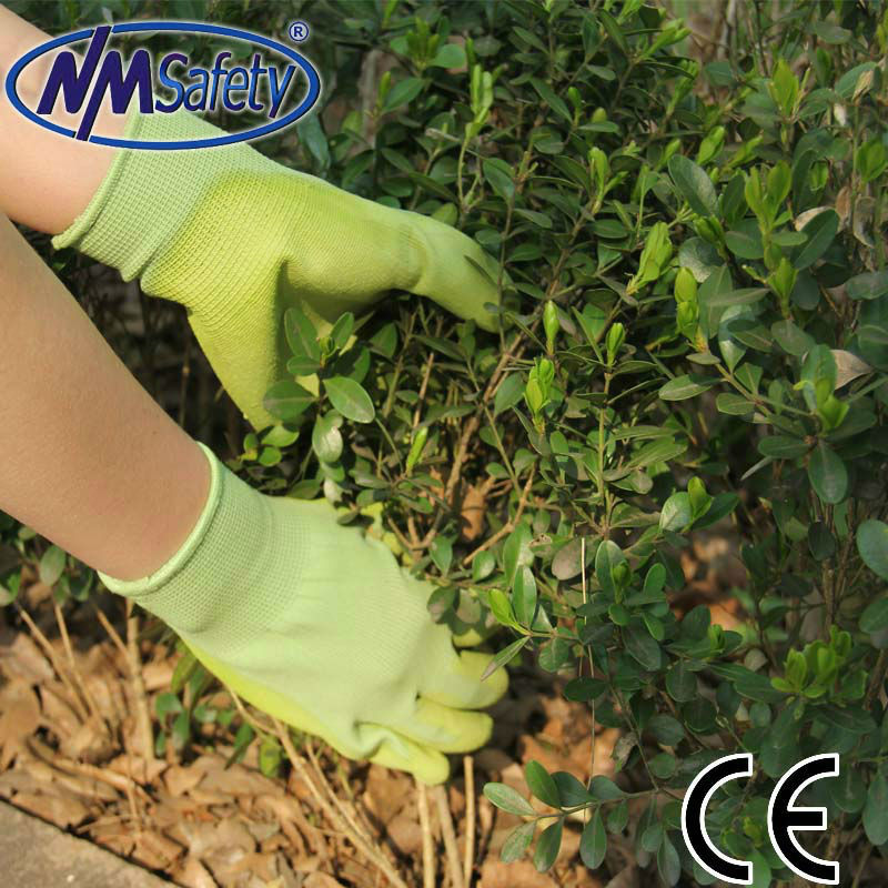 NMSAFETY PU coated gloves for gardening