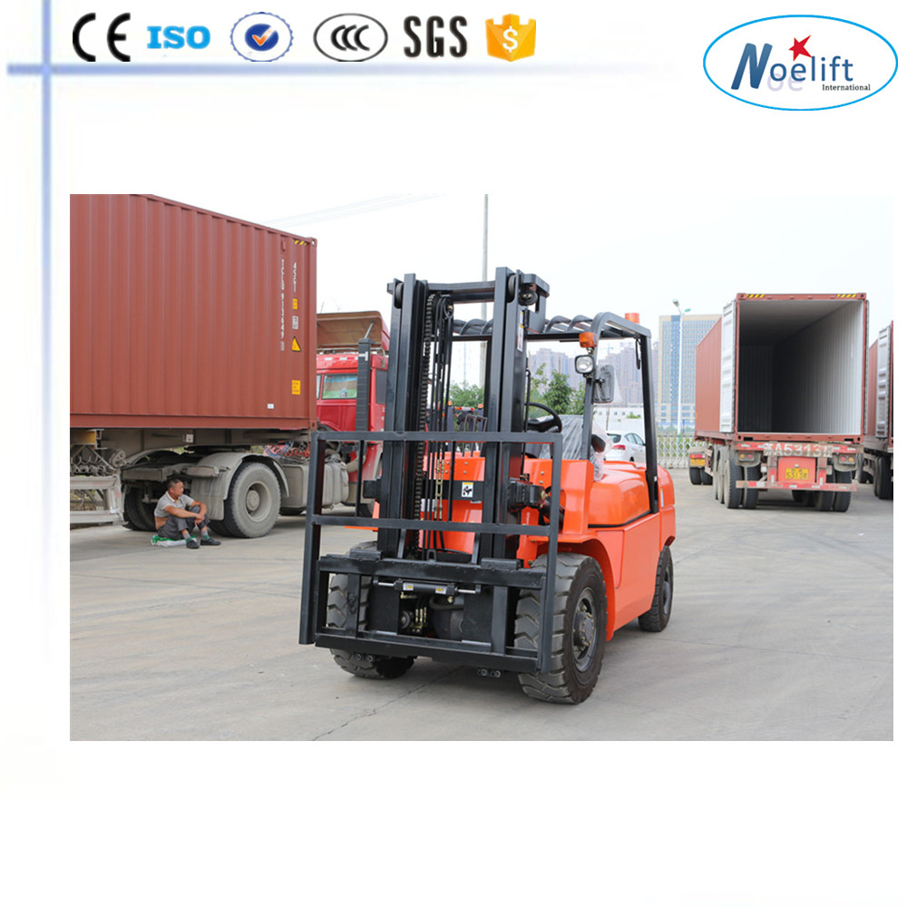 import and export trading company Solid/pneumatic tyre 4-5 ton diesel forklift with imported engine
