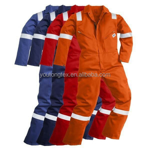 Flame retardant fireproof anti-static anti acid alkali waterproof workwear uniform