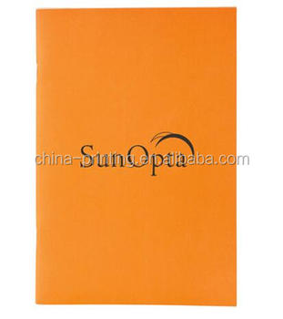 Smart design notebook, hot selling fashion leather note book