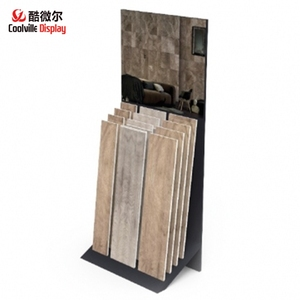 Showroom Wood Floor Display Stands/ Parquet Flooring Racks/Tile Stands