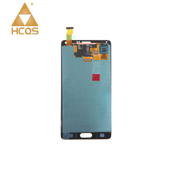 OEM China Made Quality Display Panel Screen for Samsung Galaxy Note 4 Replaced LCD for Note 4 Smartphone Repair Assembly