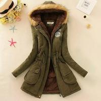 zm32952a wholesale cheap women outer wear thick warm trench coat for winter