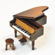 The best wedding gifts for guests wooden piano music box
