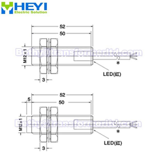 Näherungssensor lj12a3-4-z/bx lj12a3-2-z/bx 6-36vdc 3- drähte ...