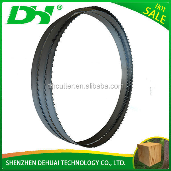 Shenzhen Made DH Brand diamond stainless steel band saw blade used for cutting marble/granite