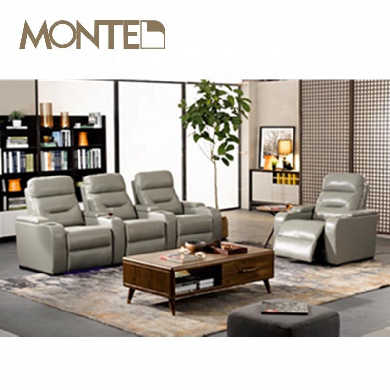 Lazy Boy Leather Recliner Sofa With Cup Holder - Buy Electric Leather  Recliner Chair,Home Theather Furniture,Coach Furniture Product on  Alibaba.com