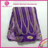 High Quality Accessories embroidery colorful saree Lace Fabric for lady dress