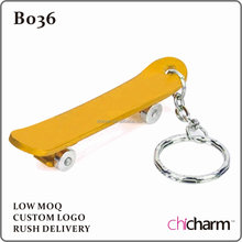 B036 Skateboard Key Chain Bottle Opener