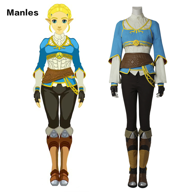 Cosplay The Legend Of Zelda Breath Of The Wild Anime Princess Zelda Halloween Costume Carnival Suit Adult For Women Custom Made Buy Anime Princess