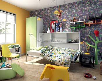 Hohe Qualität Einzel Bett Mit Schreibtisch,Wand Klapp Bett,Murphy Bett  Schreibtisch Für Platzsparend,Cf124/sz-cf124/sz/sf - Buy Einzel Bett Mit ...