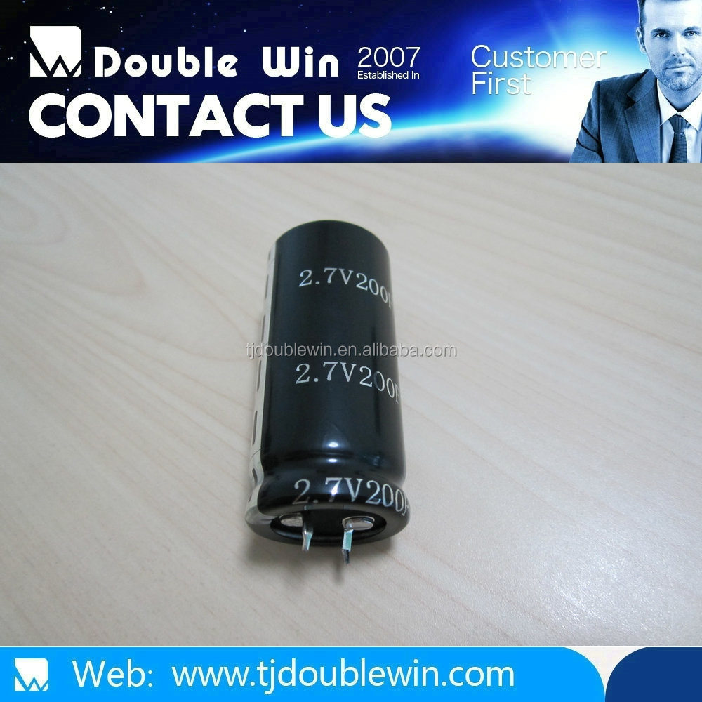 high energy 3000f 2.7v super capacitor for black box,solar panel,car audio,led,motor starting,backup battery