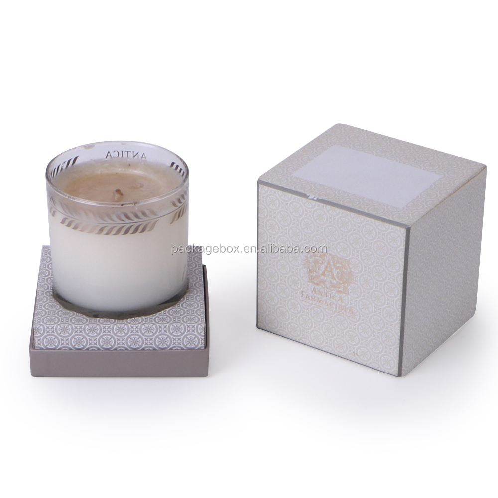 Wholesale Custom Small Gift Boxes Candles Packaging Luxury Candle