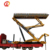 Movable High Altitude Lifting Portable Metal Roofing Roll Forming Machine