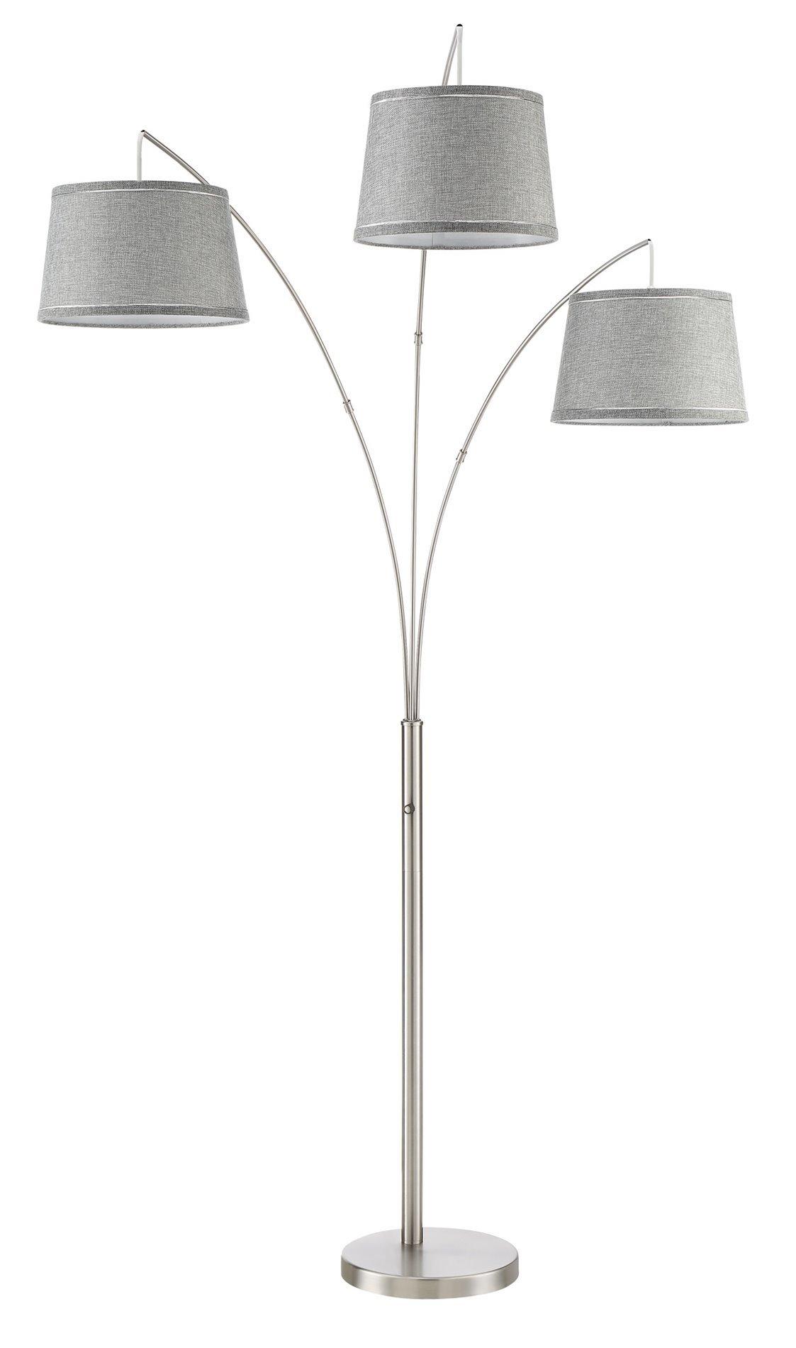 Get quotations · kira home akira 78 5 modern 3 light arc floor lamp with 4 way