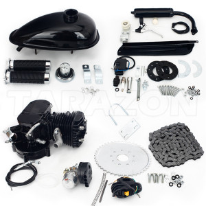 80CC 2-Stroke Bike Motor Kit Engine Complete Kit Motorized Bike For Sale