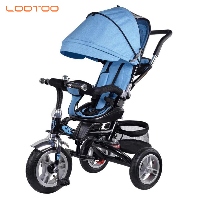 China factory hot selling 3 in 1 tricycle bike baby stroller 3 wheels