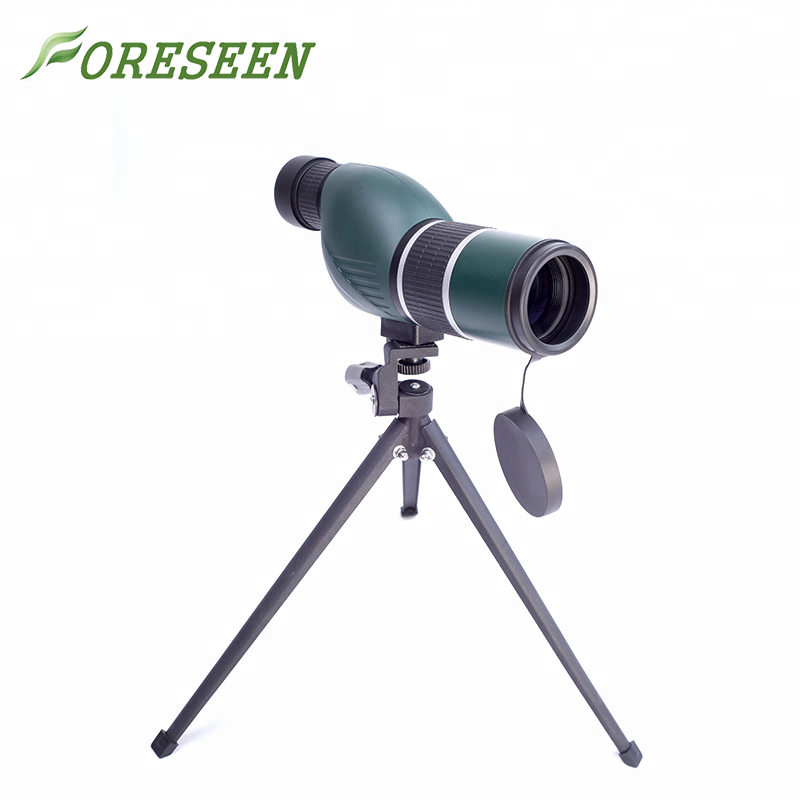 Professional 20-60x bird watching telescope military green spotting scope