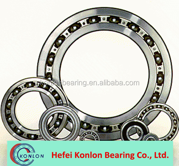 China produced ball bearing / Single Row Number of Row and Ball Type Deep Groove Ball Bearing