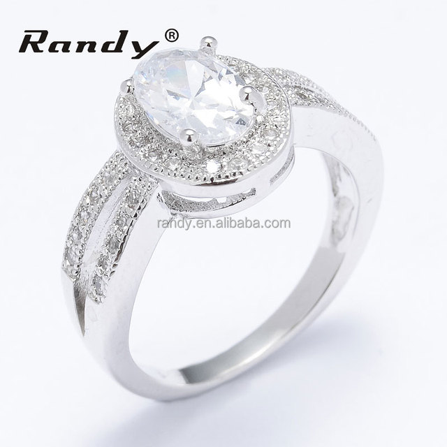 Wholesale Classical Wedding Bridal Rings Jewels For Women cd95c41fb968