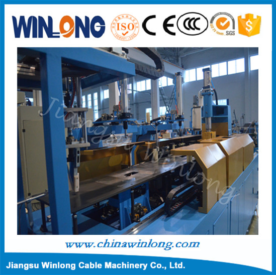 Automatic wire coil winding and binding machine/ cable wire twist tie machine