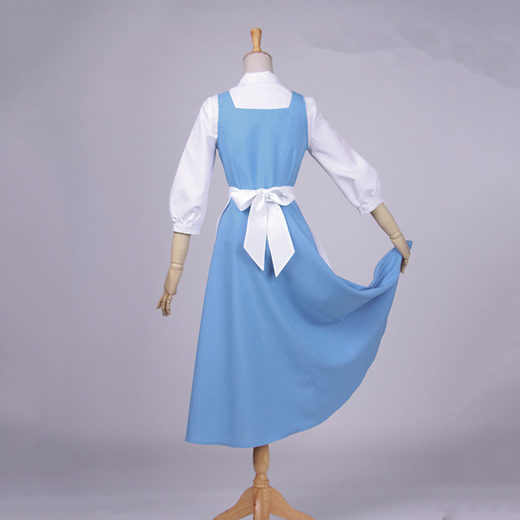 463dbfbce608 Movie Character Beauty And The Beast Dance Costume The Beast Cosplay Sexy  Belle Princess Dancer Costume