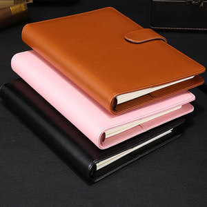 2018 suits shiny lady custom leather notebook