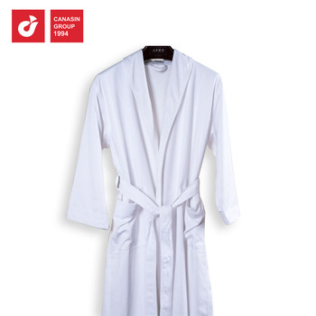 2018 New Fashion Hotel Floor Length Embroidered Terry Towel Bathrobe ... 498d2c44b