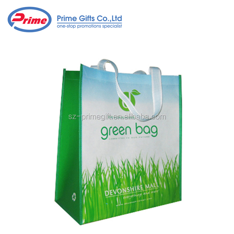 China Supply Non Woven Bags with Logo Handle Bag
