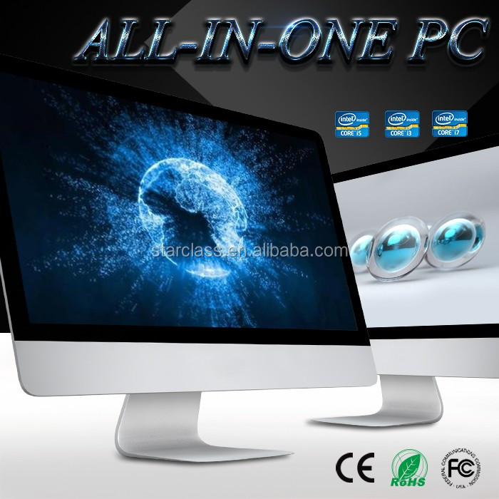 "The Best 23.6"" Multimedia I3/I5/I7 All In One PC 500GB HDD"