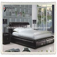 Factory offer high quality low price bed room set PY-111