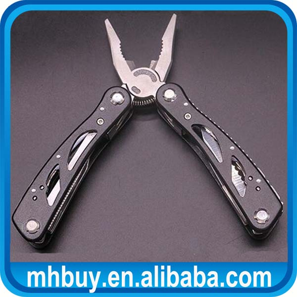 High Quality Multi Tools Pliers with Screwdriver Kit Camping Climbing Hiking Plier Pocket Cutting Multitools Black