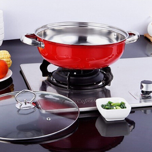 New Stainless Steel Coloured Ceramic Coatings Cookware Set of Pots & Pans Kitchen for Home Cooking