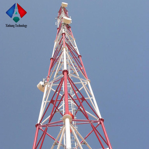 Communication Self Supporting Cell Phone Antenna Tower Telecommunication Tower