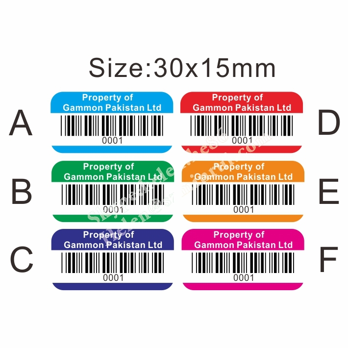 graphic relating to Printable Asset Tags identified as Tailor made Design and style With Your Brand Basic safety Tamper Evidence Household Of Printable Barcode Sticker,Destrutcible Tamper Obvious Asset Label - Acquire House Of