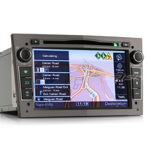 "Erisin ES7160P 7 ""HD 2 Din <span class=keywords><strong>Xe</strong></span> Đài Phát Thanh <span class=keywords><strong>DVD</strong></span> Player GPS 3 Gam Bluetooth RDS cho Opel Vauxhall Holden"