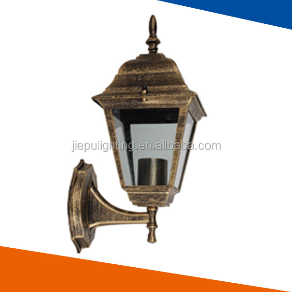 antique bronze palace lamp for outdoor wall decoration 60W