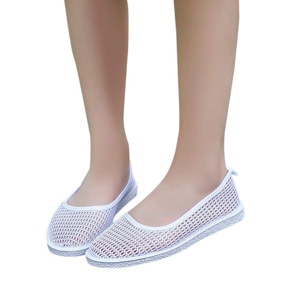 F-OXMY Girls Breathable Anti-Slip Dress Mary Jane Shoes Cute Flower Princess Soft Ballet Flat Shoes
