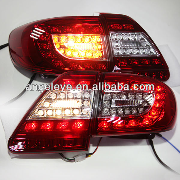 For TOYOTA 11-12 Corolla Altis LED Tail light Red White Color