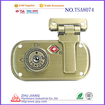 TSA changeable combination lock luggage padlock