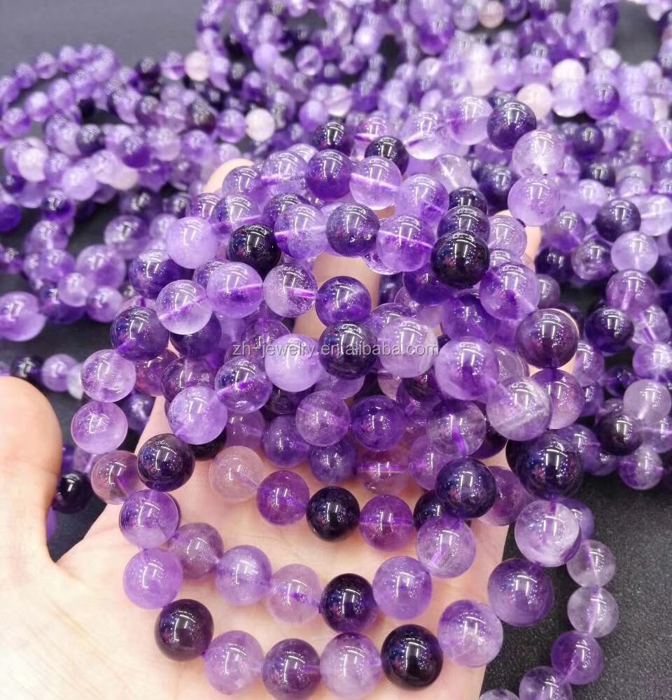 high quality wholesale products purple rutilated quartz beads bracelets & jewelry bracelet for women accessories
