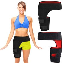 2018 New inventions High Quality Adjustable Neoprene Groin Hip Thigh Support Brace for man & women