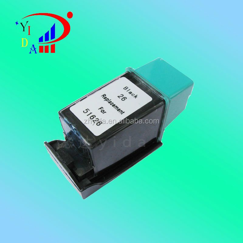 High quality ! Remanufactured ink cartridge for HP26