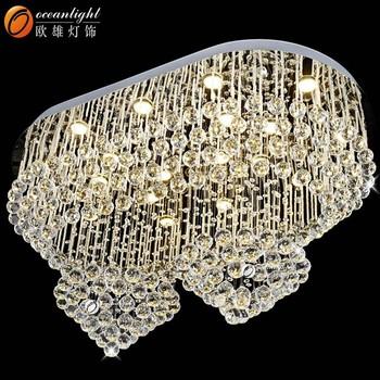 Hotel Chandelier LampAcrylic Crystal Diamond Chandelier Om - Chandelier acrylic crystals