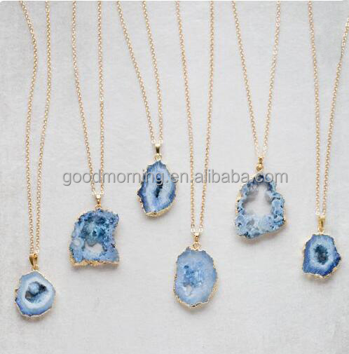73f9fbf301f5 China Druzy Necklaces
