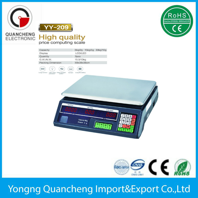 electronic balance price scale 40kg 10g portable electronic scale
