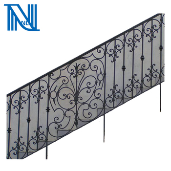 Cast/Wrought Iron Spiral Staircase/Railing Design,Balcony Grill Design/Indoor  Usage
