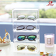 2018 Acrylic eye glasses organizer table display stand small display organizer