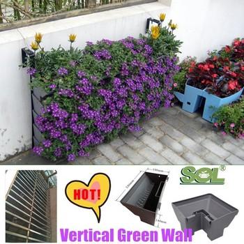 Vertical Garden Hanging Wall Planters, Vertical Green Wall Garden Supplier  In China