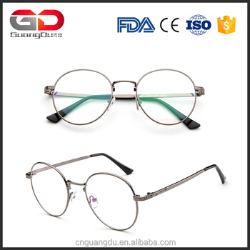 102d2def17 Retro Reading Glasses Frames Brand Designer Fashion Women Metal Frame  Eyeglasses Vintage Men Optical Frame Oculos